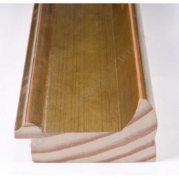 INK2558.740 70x30 - drewniana złota rama do obrazów i luster sample