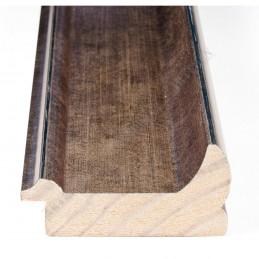 INK2558.773 70x30 - drewniana brąz metaliczna rama do obrazów i luster sample