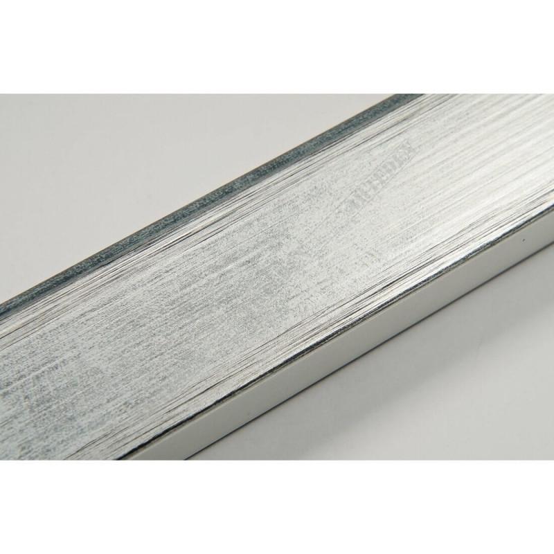 INK2810.653 28x15 - wąska srebrna rama do zdjęć i luster
