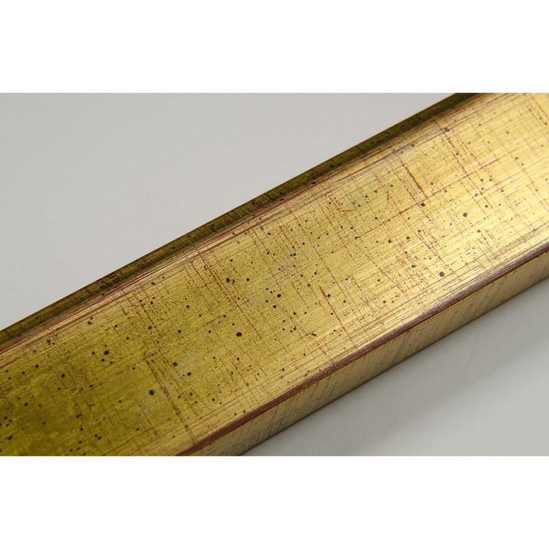 INK2810.747 28x15 - wąska złota rama do zdjęć i luster