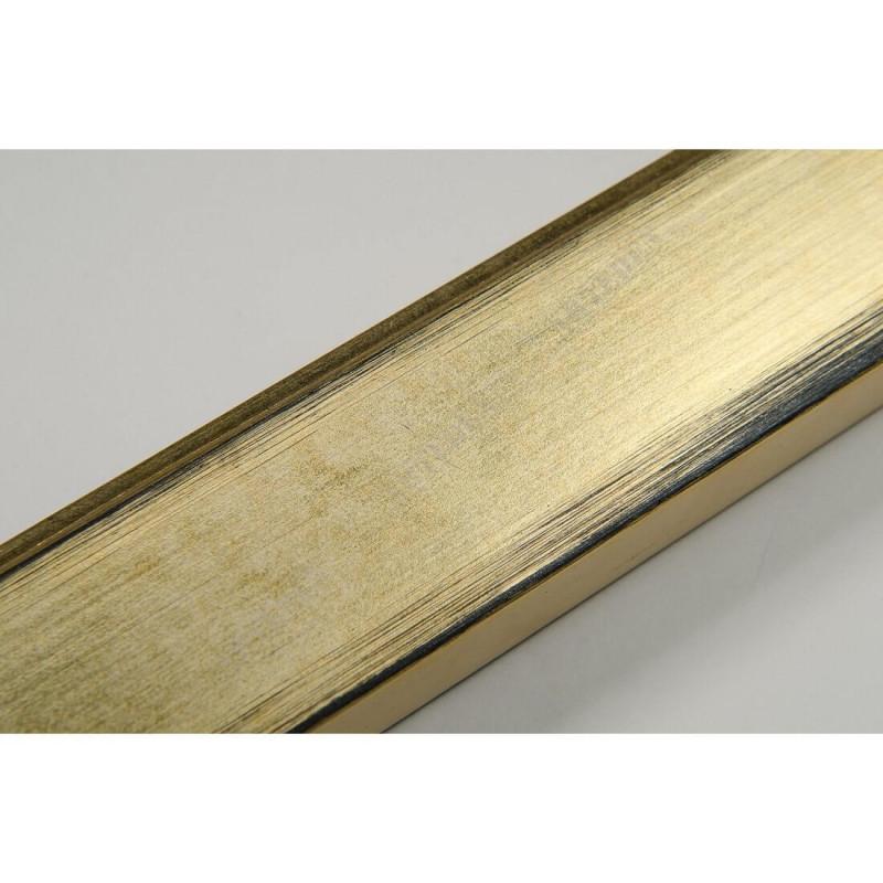 INK2810.753 28x15 - wąska złota rama do zdjęć i luster