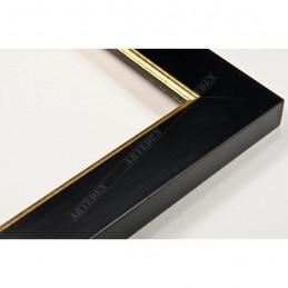 INK2810.770 28x15 - wąska czarna rama do zdjęć i luster
