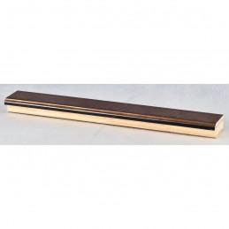 INK2810.773 28x15 - wąska brąz metaliczna rama do zdjęć i luster sample1
