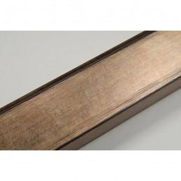 INK2810.773 28x15 - wąska brąz metaliczna rama do zdjęć i luster