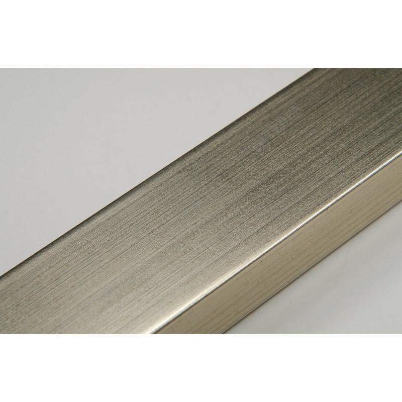 INK2816.667 28x16 - wąska srebrna rama do zdjęć i luster