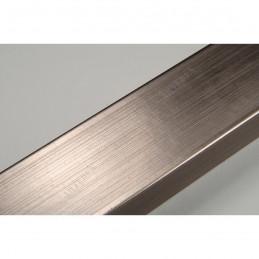 INK2816.669 28x16 - wąska srebrna ciemna rama do zdjęć i luster