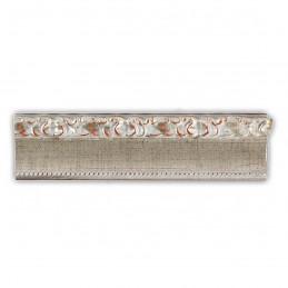 INK3083.647 55x30 - drewniana srebrna dekor rama do obrazów i luster sample2
