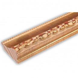 INK3083.747 55x30 - drewniana złota dekor rama do obrazów i luster