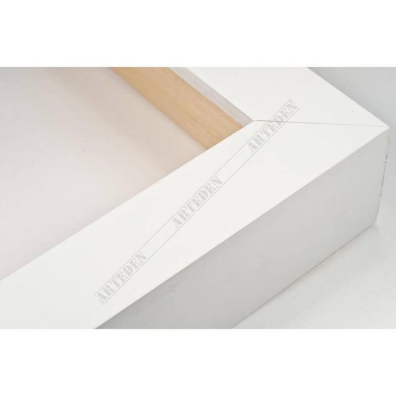INK5034.181 30x45 - wąska biała blejtram rama do zdjęć i luster