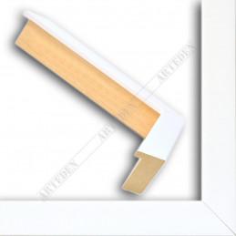 INK5034.181 30x45 - wąska biała blejtram rama do zdjęć i luster sample