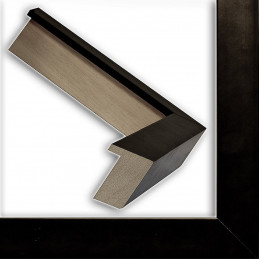 INK5034.271 30x45 - wąska czarna blejtram rama do zdjęć i luster sample