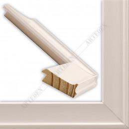 INK5301.183 35x18 - drewniana biała rama do obrazów i luster sample