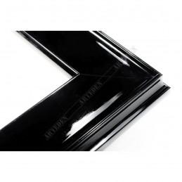INK5302.174 50x24 - drewniana czarna połysk rama do obrazów i luster
