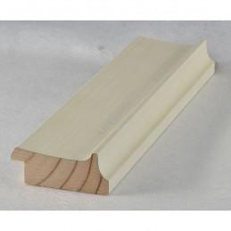 INK5302.486 50x24 - drewniana avorio rama do obrazów i luster sample
