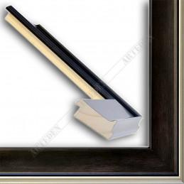 INK5302.806 50x24 - drewniana wenge rama do obrazów i luster sample