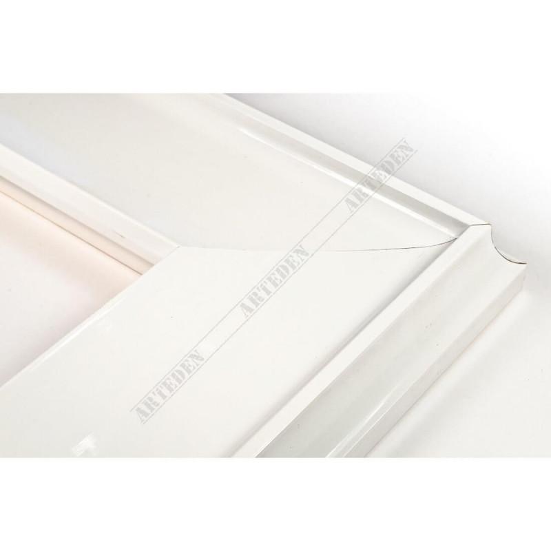 INK5303.183 90x33 - szeroka biała rama do obrazów i luster