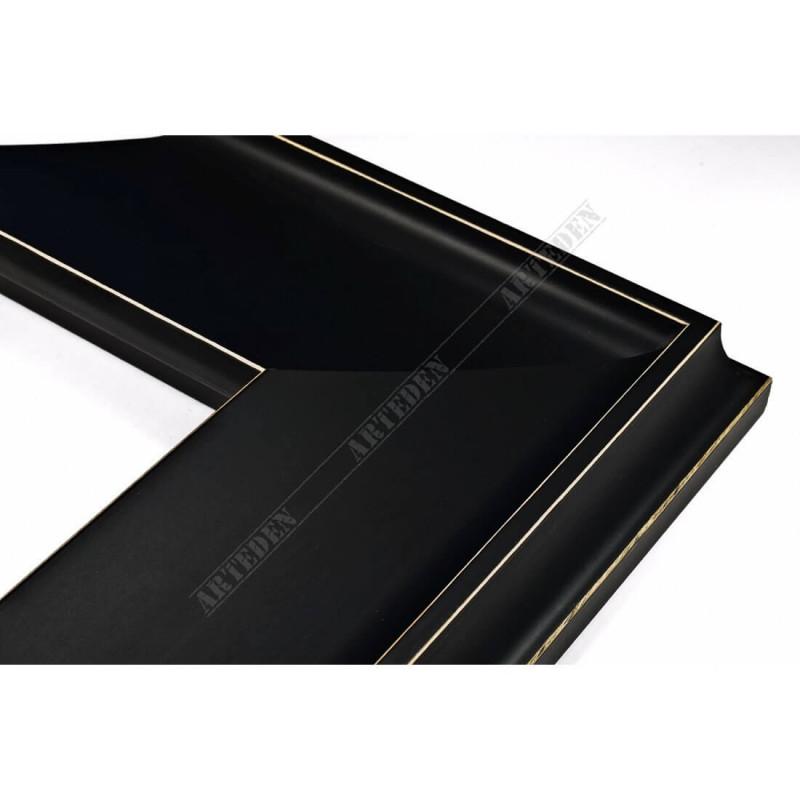 INK5303.470 90x33 - szeroka czarna mat rama do obrazów i luster