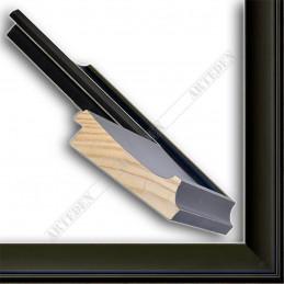 INK5303.470 90x33 - szeroka czarna mat rama do obrazów i luster sample