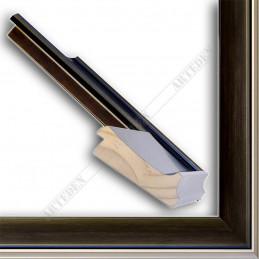 INK5303.806 90x33 - szeroka wenge rama do obrazów i luster