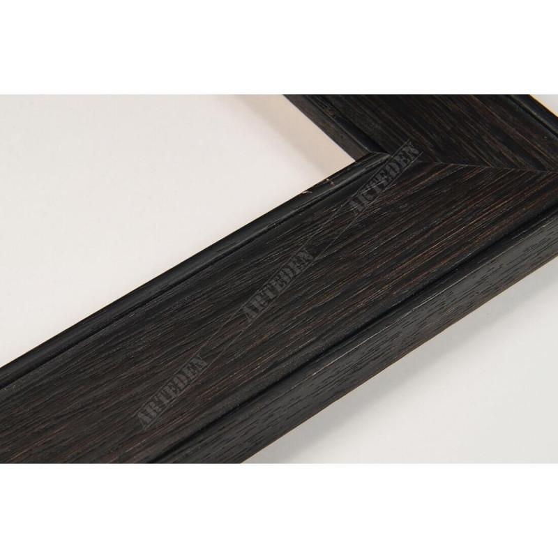INK5640.175 39x14 - drewniana ciemna brąz rama do obrazów i luster sample