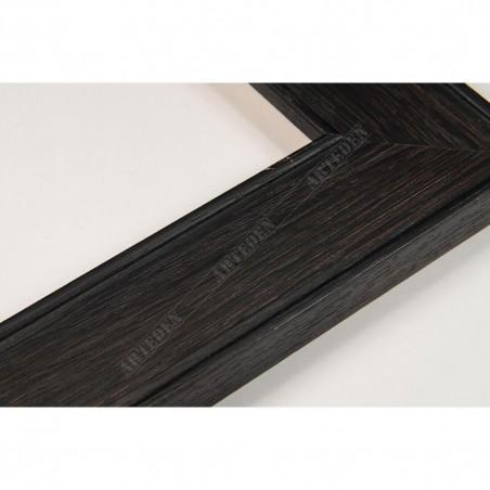INK5640.175 38x14 - ciemna brązowa rama do obrazów i luster
