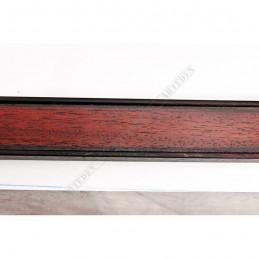 INK5640.236 38x15 - drewniana ciemna brąz rama do obrazów i luster sample1
