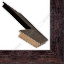 INK5670.175 69x20 - drewniana ciemna brąz rama do obrazów i luster sample