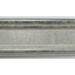 INK6201.650 45x25 - drewniana srebrna matowa rama do obrazów i luster sample2