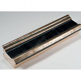 INK6201.670 45x25 - drewniana czarna ze srebrnymi brzegami rama do obrazów i luster sample