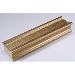 INK6201.740 45x25 - drewniana złota rama do obrazów i luster
