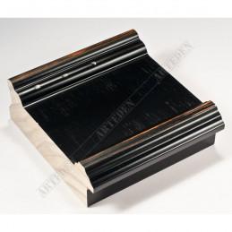 INK6202.571 70x30 - drewniana czarna-przecierane brzegi rama do obrazów i luster sample