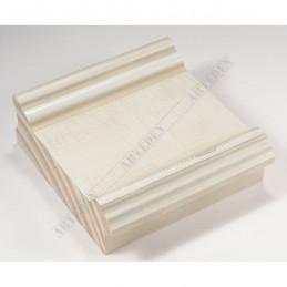 INK6202.581 70x30 - drewniana kremowa rama do obrazów i luster sample