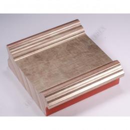 INK6202.640 70x30 - drewniana srebrna antyczna rama do obrazów i luster sample