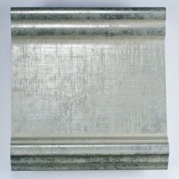 INK6202.650 70x30 - drewniana srebrna matowa rama do obrazów i luster sample1