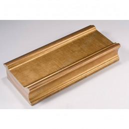 INK6202.740 70x30 - drewniana złota rama do obrazów i luster