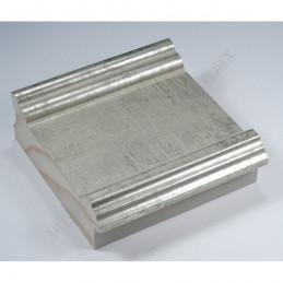 INK6203.650 105x37 - srebrna matowa rama do dużych obrazów i luster sample