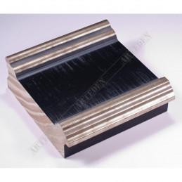 INK6203.670 105x37 - czarna-srebrne brzegi rama do dużych obrazów i luster sample