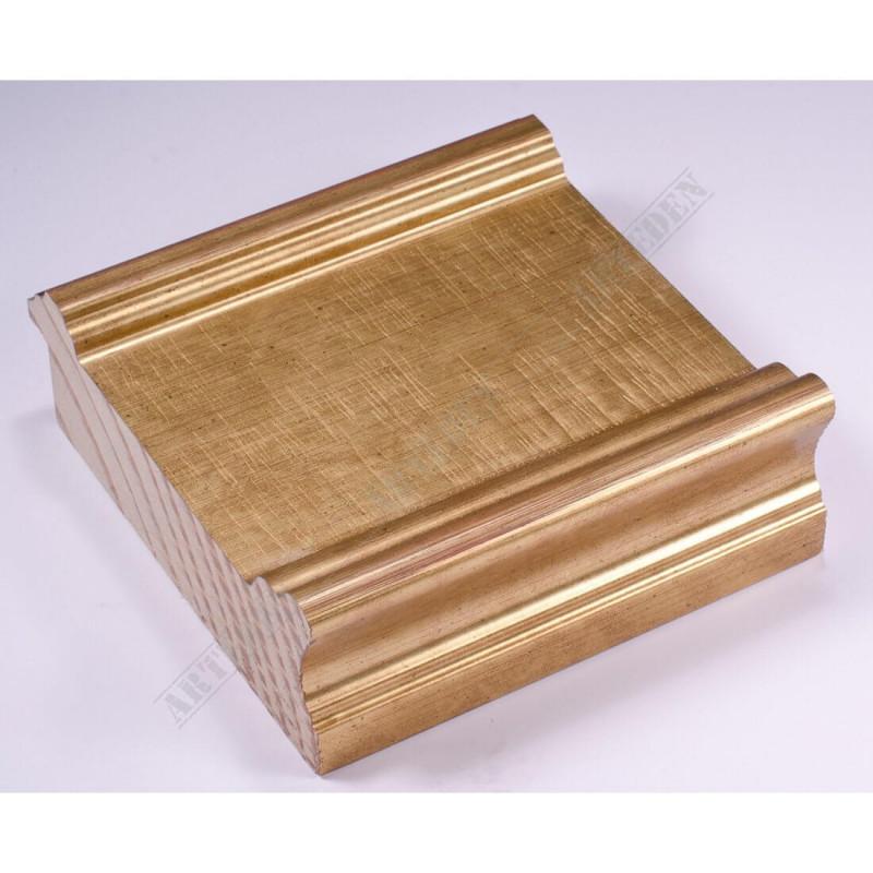 INK6203.740 105x37 - złota rama do dużych obrazów i luster