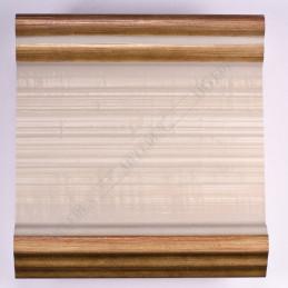 INK6203.786 105x37 - avorio-złote brzegi rama do dużych obrazów i luster sample1