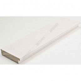 INK7017.540 70x17 - drewniana biała rama do obrazów i luster sample