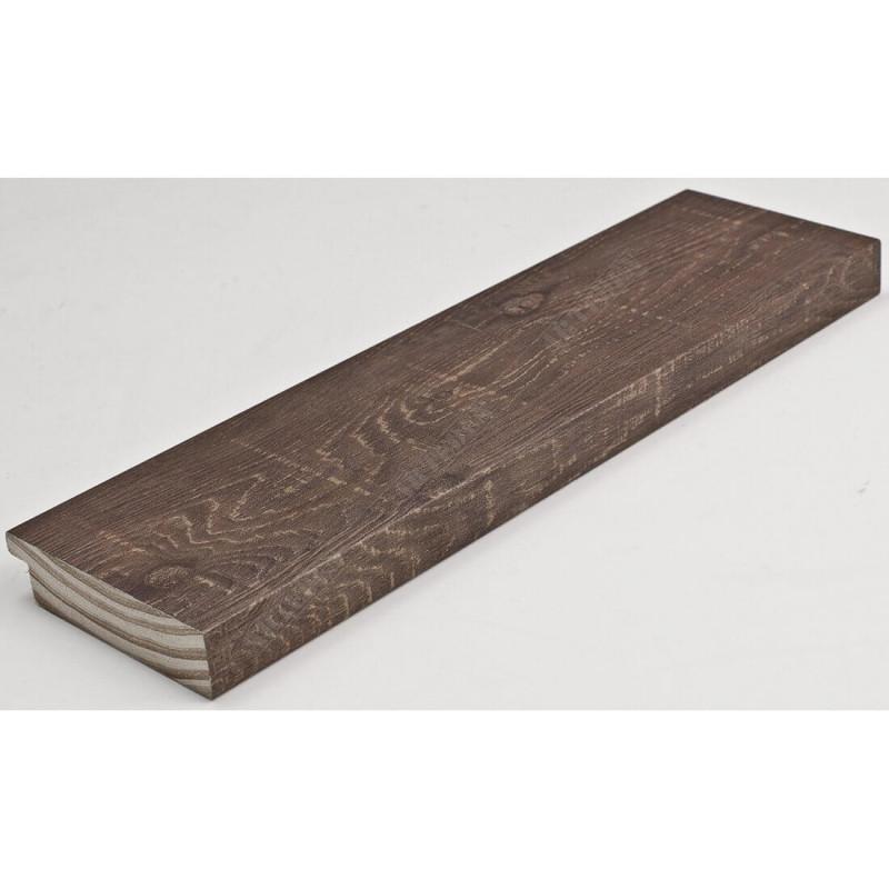 INK7017.543 70x17 - drewniana brązowa rama do obrazów i luster
