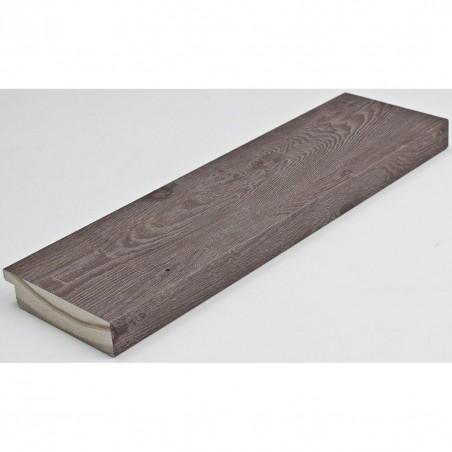 INK7017.545 70x17 - drewniana szaro brązowa rama do obrazów i luster
