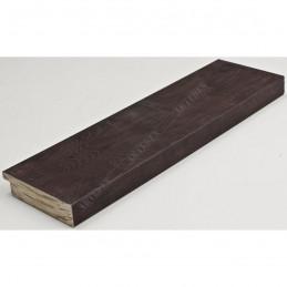 INK7017.546 70x17 - drewniana ciemno brązowa rama do obrazów i luster