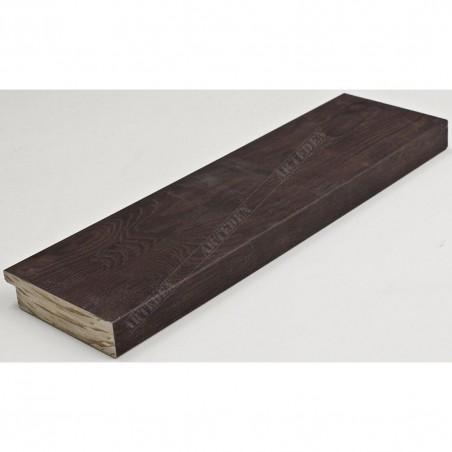 INK7017.546 70x17 - drewniana ciemno brązowa rama do obrazów