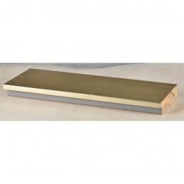 INK7017.667 70x17 - drewniana srebrna rama do obrazów i luster sample