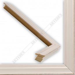 INK7500.481 17x17 - mała biała przecierka ramka do zdjęć i obrazków sample