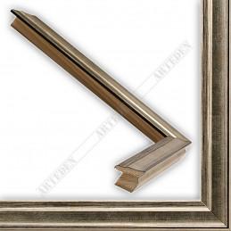 INK7500.673 17x17 - mała srebrna przecierka ramka do zdjęć i obrazków sample