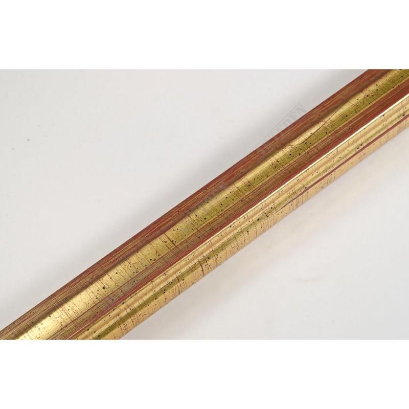 INK7500.747 17x17 - mała złota ramka do zdjęć i obrazków