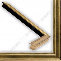 INK7500.753 17x17 - mała złota przecierka ramka do zdjęć i obrazków sample