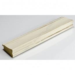 INK7501.480 45x21 - drewniana biała rama do obrazów i luster